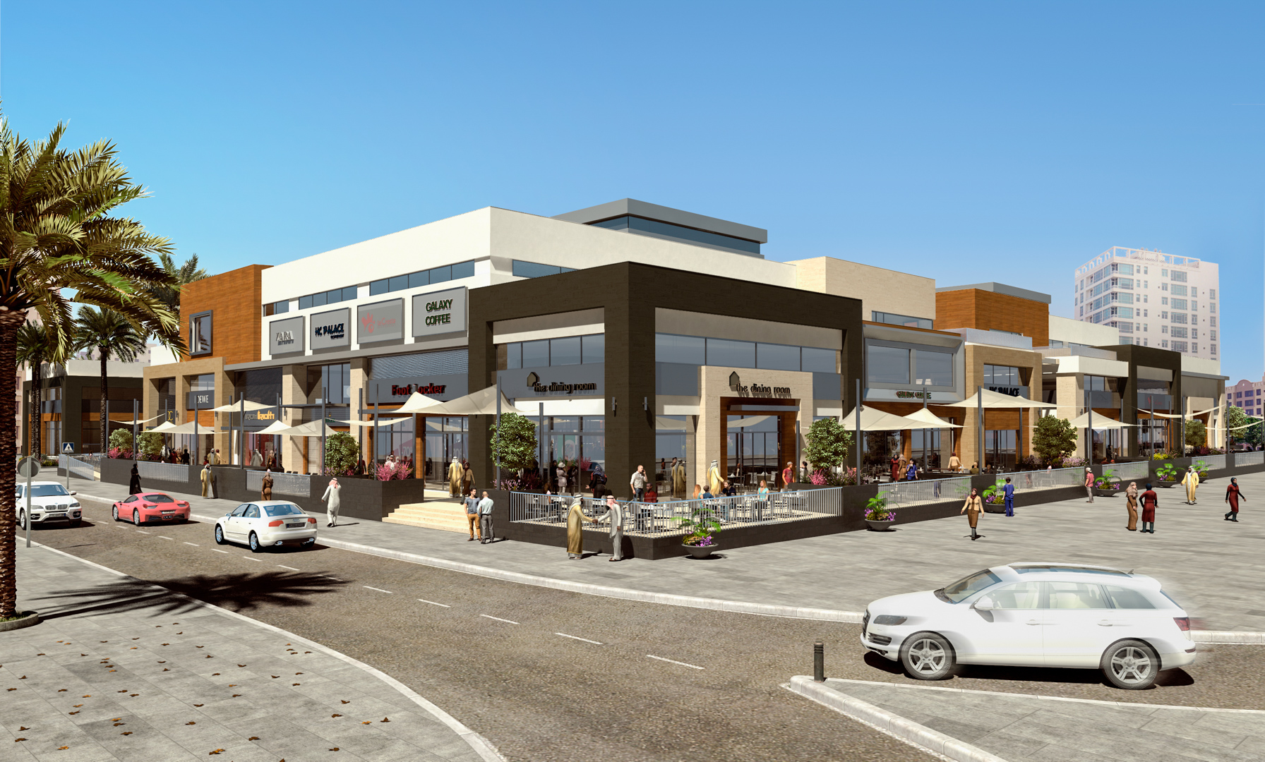 Juffair Square Development