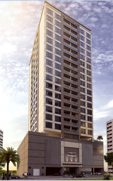 20 Storey Residential Building At Amwaj (Lagoon Heights)